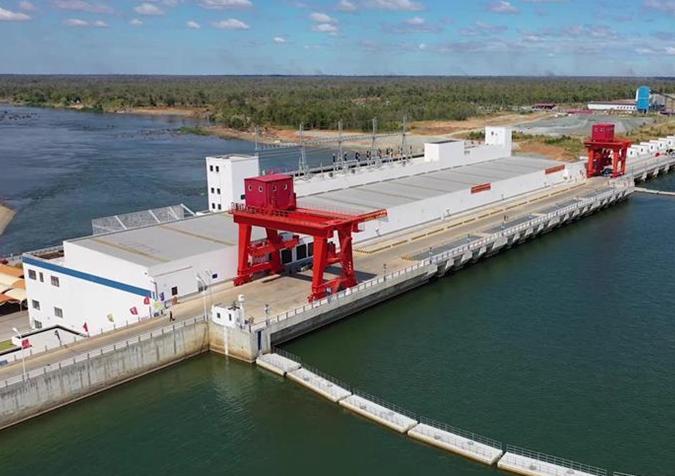 柬埔寨桑河二级水电站举行竣工投产仪式