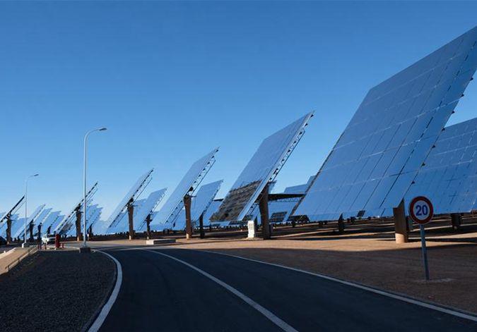在荒漠中迸发光与热——记中企在摩洛哥承建的光热电站项目