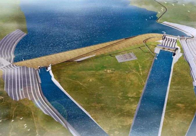 中阿共建世界最南端水電站