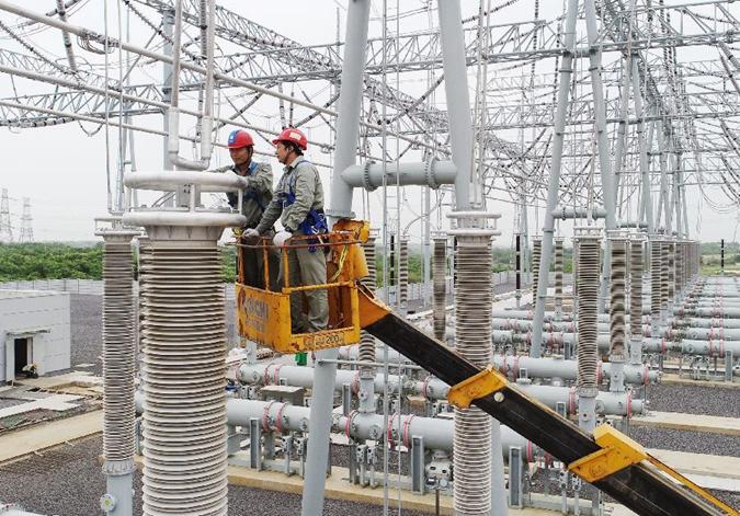 凤凰山变电站扩建工程即将完工