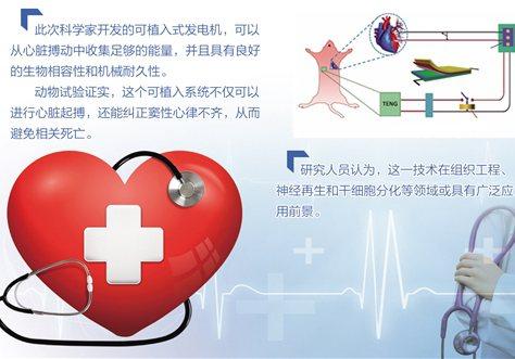 """无需电池自驱动心脏起搏器问世—— 你的心跳可""""发电"""""""