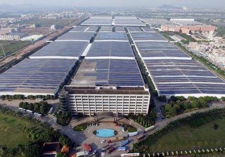 中山格兰仕光伏项目发电量突破2亿千瓦时