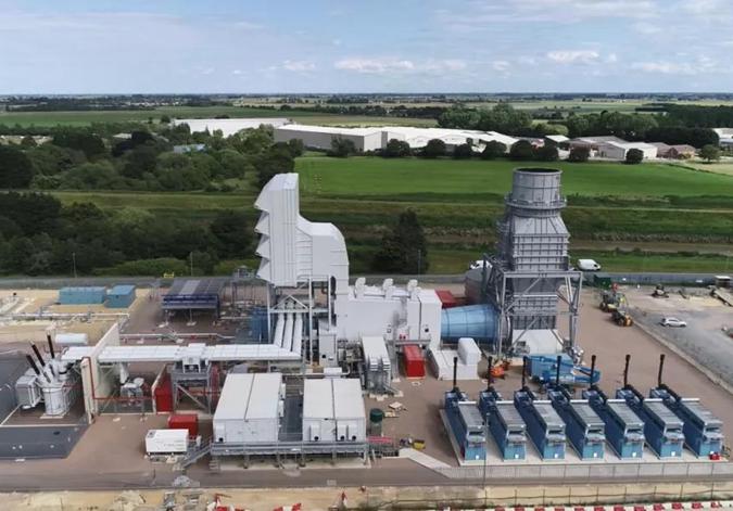 华能参股的在英项目投产 系英国近6年最大燃气发电项目
