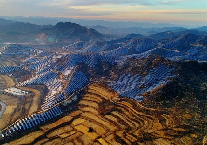 河北:光伏扶貧讓太行山區貧困戶穩定受益