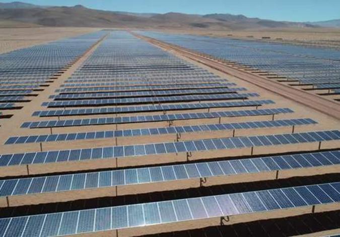 中企承建阿根廷最大光伏發電項目完工