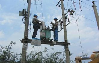 安徽推进电网设施灾后重建 供电恢复率达98.5%