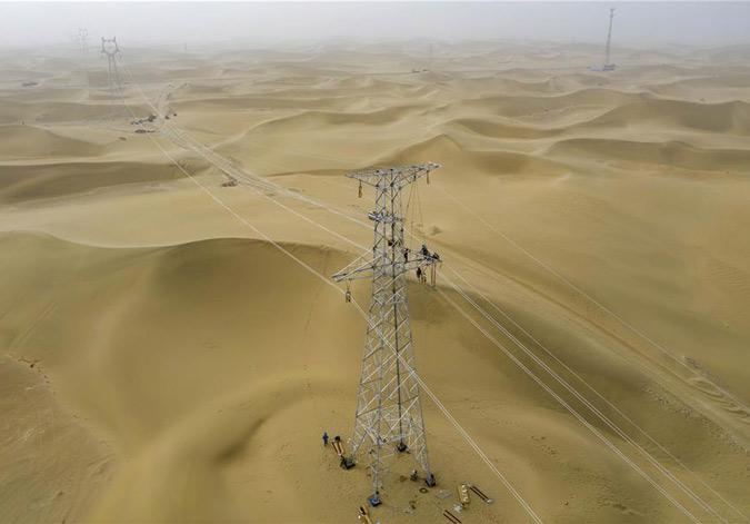 新疆和田:电网提升扩容助发展
