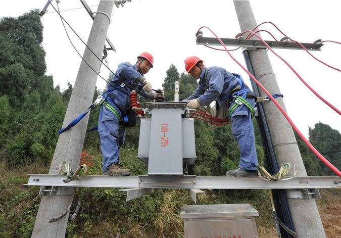 """贵州农村电网改造升级为脱贫攻坚""""充足电"""""""