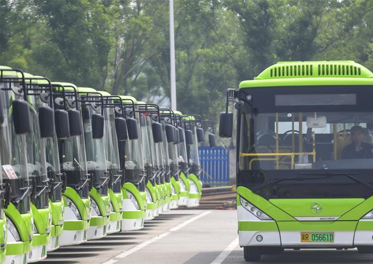 河北霸州大力发展新能源公共交通