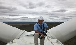 龙源人|风带来南非的期盼