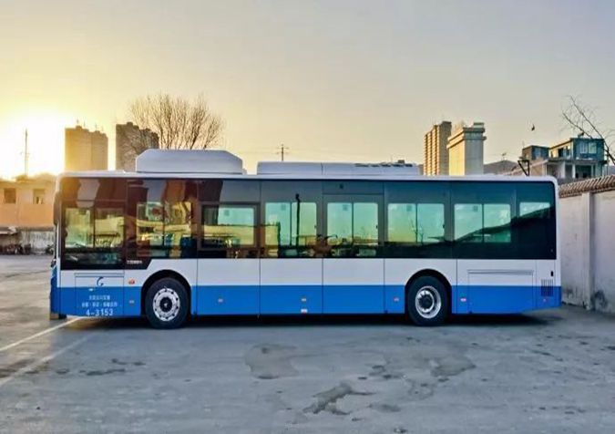 """""""煤城""""太原:400辆纯电动公交车上路,年可减排2万吨二氧化碳"""