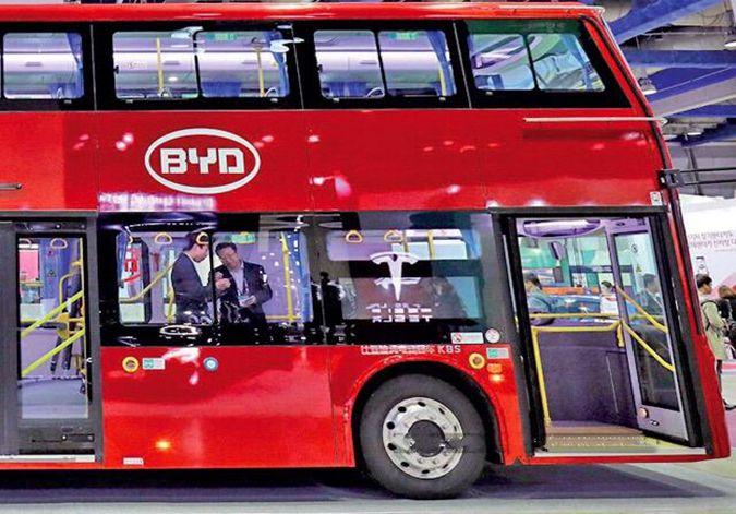比亚迪印度市场最大电动巴士订单开始批量交付