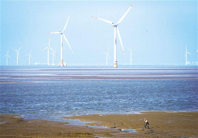 """海上风电、光伏发电商用模式不断创新—— """"风光产业""""加速智能转型"""