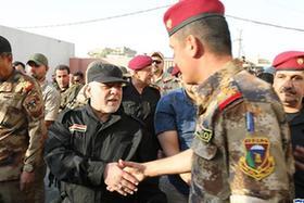 伊拉克總理正式宣布摩蘇爾全面解放