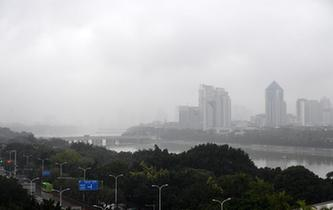 廣西發布大霧藍色預警
