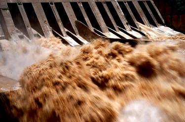 三门峡水库降至汛限水位以下