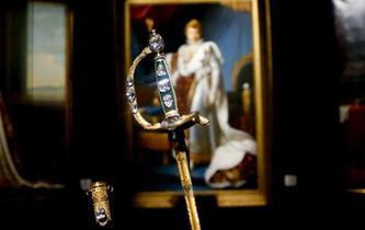 """拿破侖""""加冕之劍""""亮相故宮博物院"""