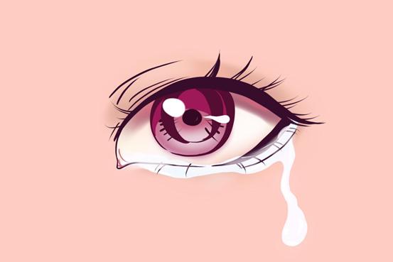 原来我们流下的眼泪真的不一样
