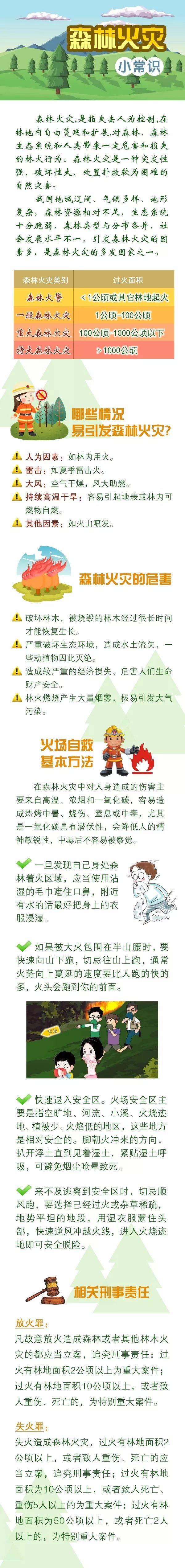 天富官网首页【应急科普】森林火灾小常识