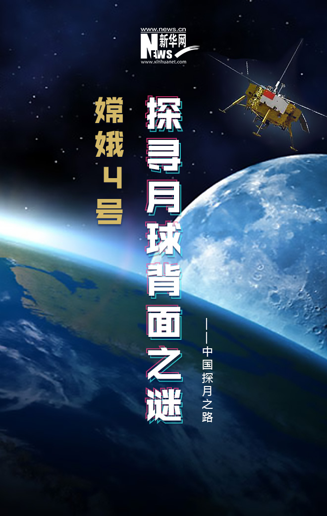 嫦娥四號 探尋月球背面之謎_