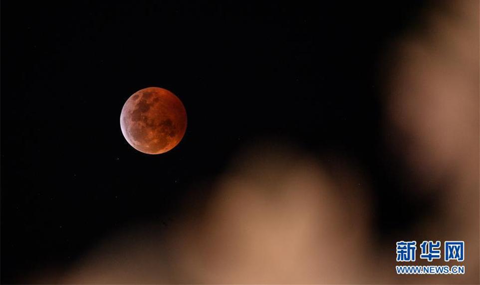"""超级月亮撞上月全食 为什么叫""""超级血狼月"""""""