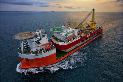 勘探海洋石油的奥秘