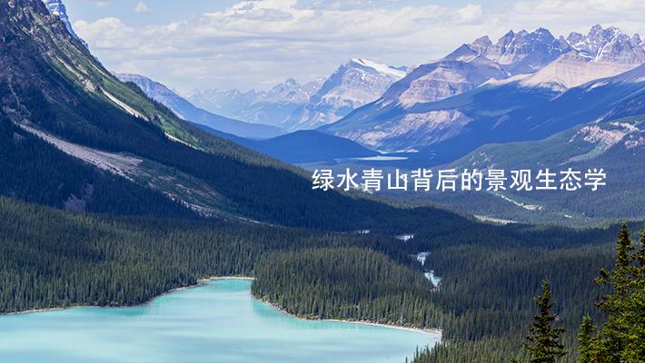 绿水青山背后的景观生态学
