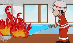 消防小课堂:校园火灾如何逃生