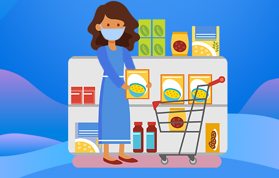 去超市商场买菜购物如何做好防护?