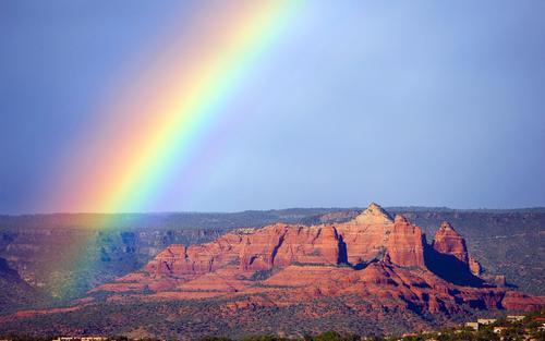 水與光的魔法——彩虹