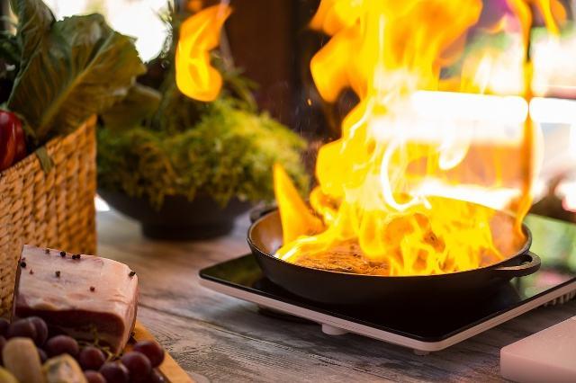 遇到油鍋起火,你知道如何正確處理嗎?