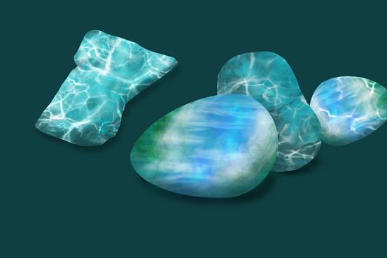 凝聚水波的寶石——海紋石