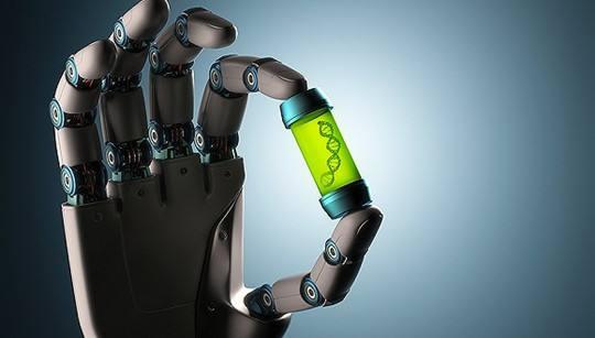 DNA机器人:巨大的一小步