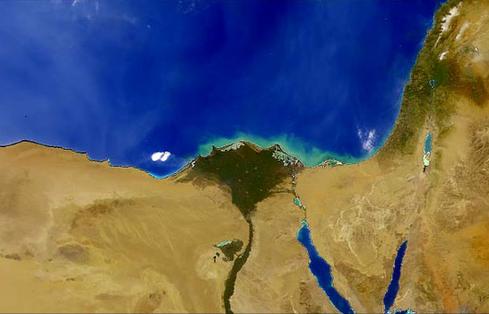尼罗河:埃及文明发源地