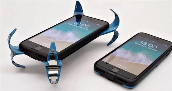"""自带""""安全气囊""""的手机壳"""