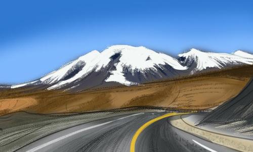 """资源丰富的""""世界屋脊""""——青藏高原"""