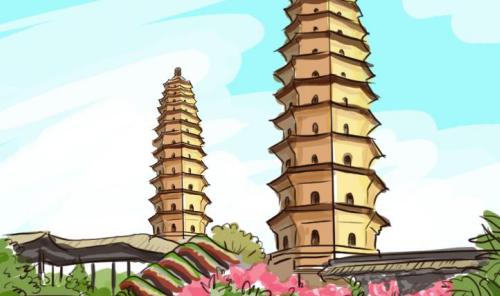 中国古建筑中的数学元素
