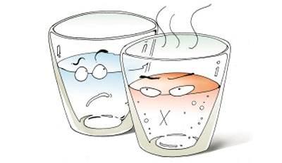 温水为什么比冷水结冰快