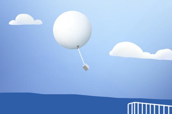高空听诊器——探空气球