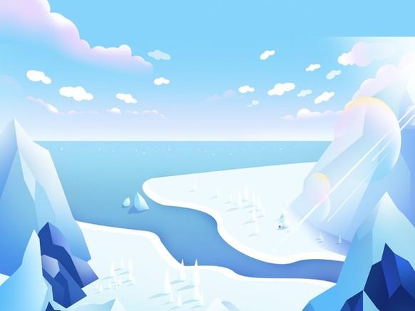 南极为什么比北极冷?
