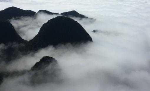 黄山云海的形成