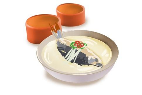 奶白色的浓汤是怎么做出来的?