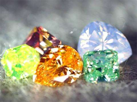 有颜色的钻石——彩钻