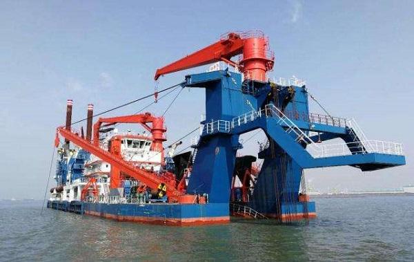 探秘海上大型绞吸疏浚重器