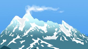 珠峰上的风向标——旗云