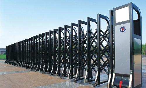 为什么铁栅栏门推拉起来非常轻松?