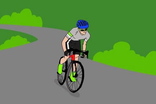 """骑自行车爬坡时,为什么走""""S""""形更省力?"""