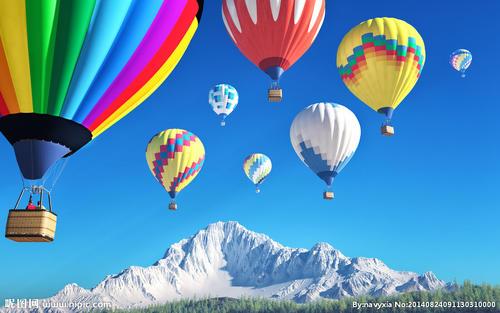 藍奇奇旅行記——熱氣球飛行原理