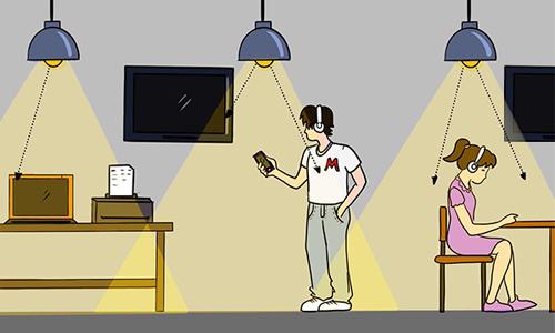 开灯就能上网 Li-Fi技术了解一下