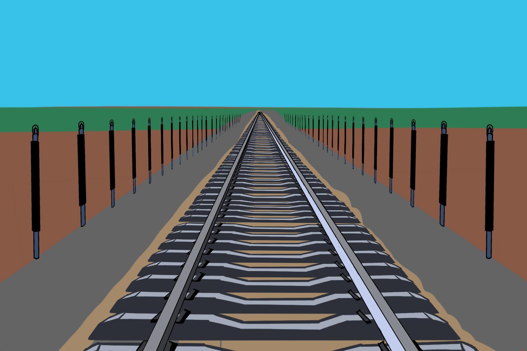 为什么青藏铁路两边有热棒?